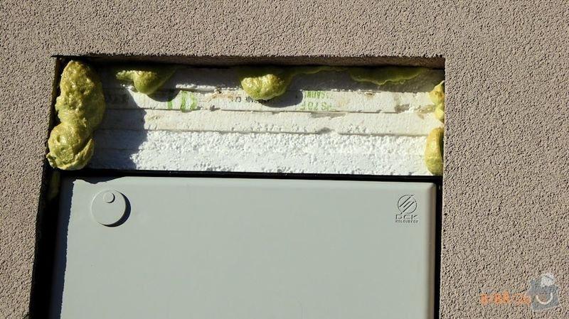 Opravu zateplené venkovní fasády: P1000538