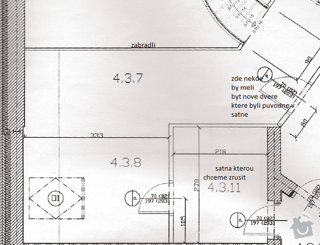 Uprava pudniho prostoru: planek
