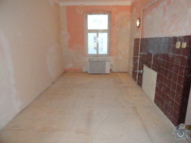 Částečna rekonstrukce dvou bytů: DSC00798