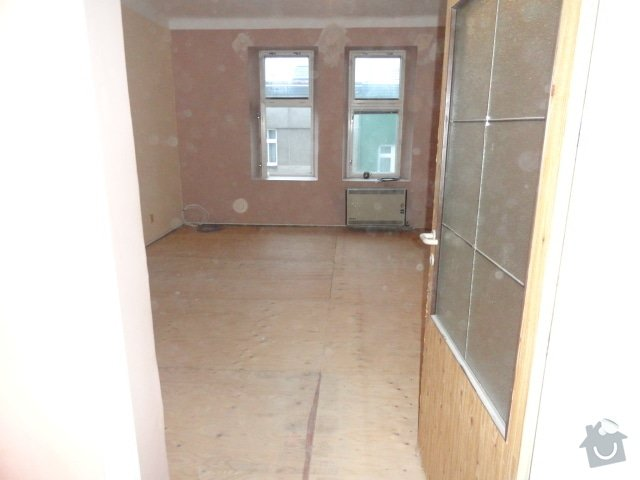 Částečna rekonstrukce dvou bytů: DSC00799