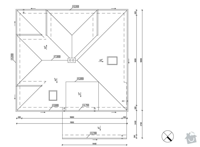 Instalace hromosvodu na RD: vyz_strecha