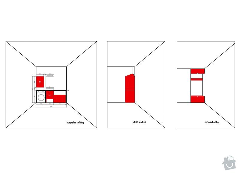Truhlářské práce (botník,skříňky do koupelny...): schema_skrinky