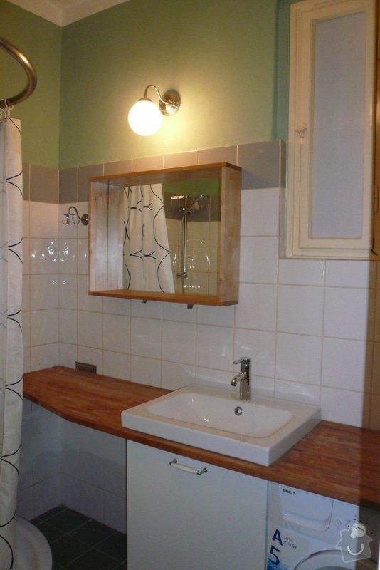 Oprava garsonky před novým nájemníkem: koupelna_6