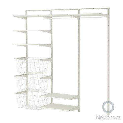 Připevnění šatního systému Ikea: algot-nast-kolej-police-tyc-bila__0171784_PE329314_S4