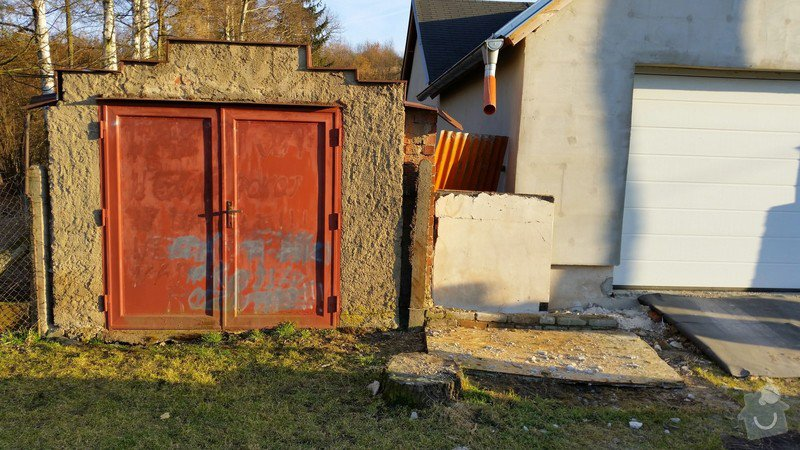 Stavba plotu před rodinným domem: image_2_