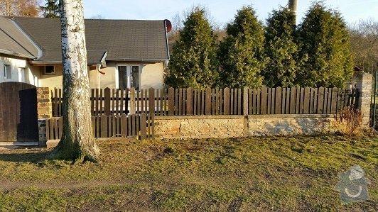 Stavba plotu před rodinným domem: image