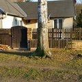 Stavba plotu pred rodinnym domem image 1
