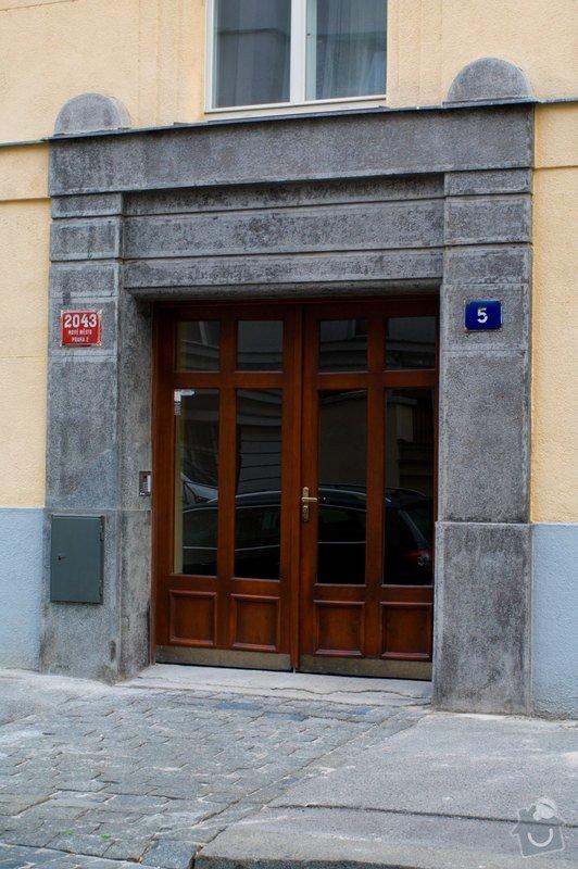 Oprava terasového portálu: tero