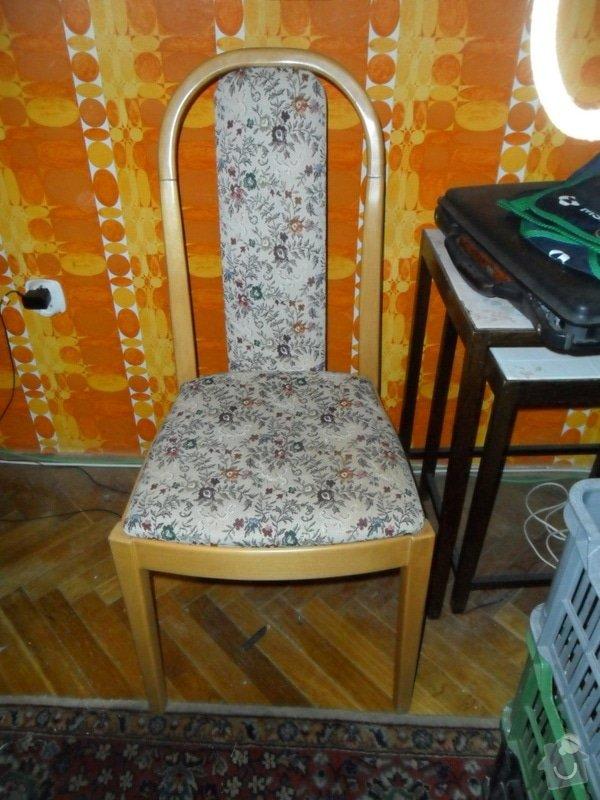 Zpevnění a přečalounění 2 židlí TON: SAM_7099