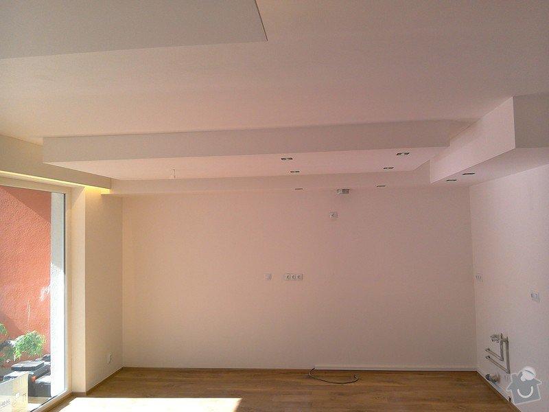 Sádrokartonové podhledy a světelné rampy: 1