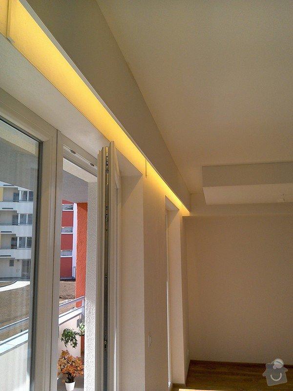 Sádrokartonové podhledy a světelné rampy: 2