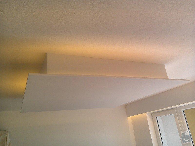 Sádrokartonové podhledy a světelné rampy: 3