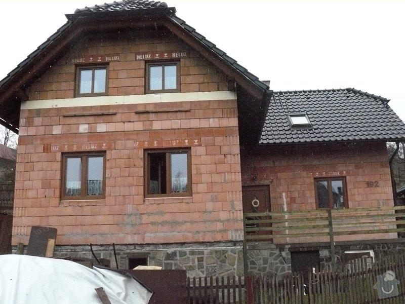 Fasáda rodiného domu: P1070882