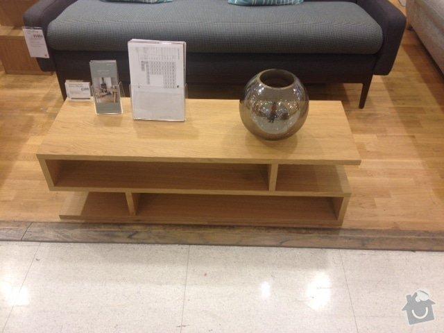 Dřevěný konferenční stolek na míru: image1