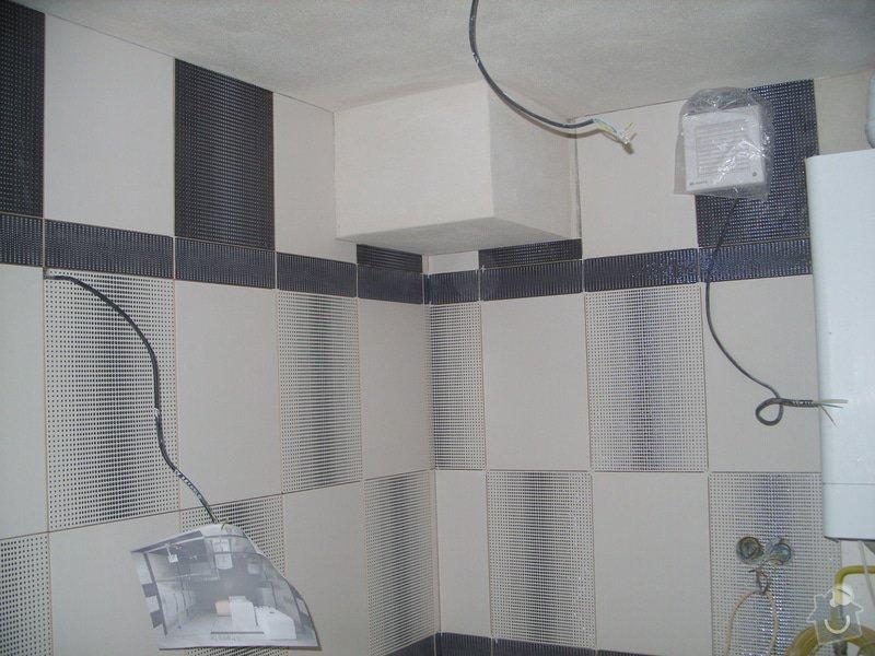 Obklady, dlažba, usazení sprchové vaničky: SS857741