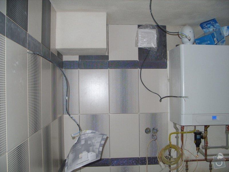 Obklady, dlažba, usazení sprchové vaničky: SS857747
