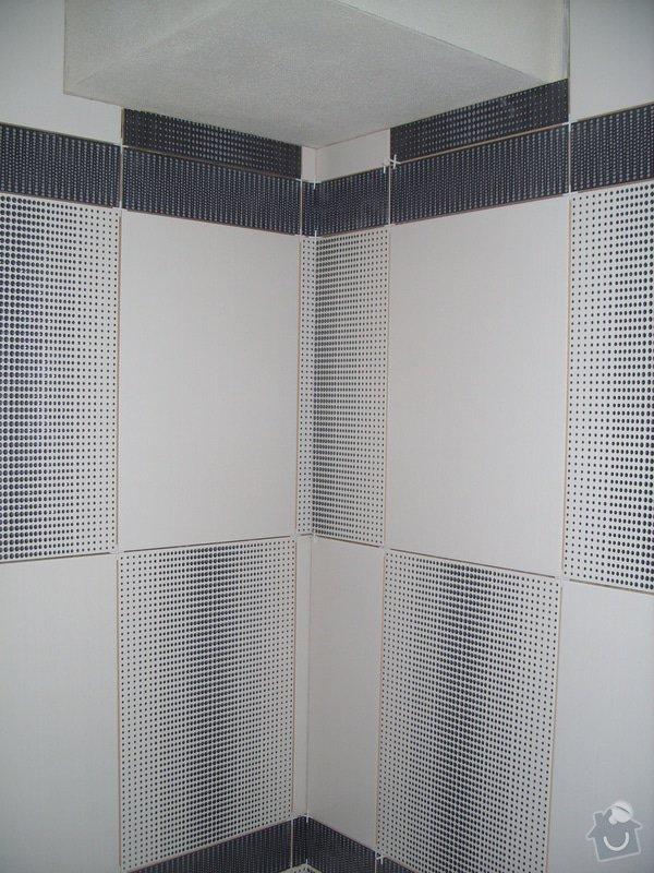 Obklady, dlažba, usazení sprchové vaničky: SS857749