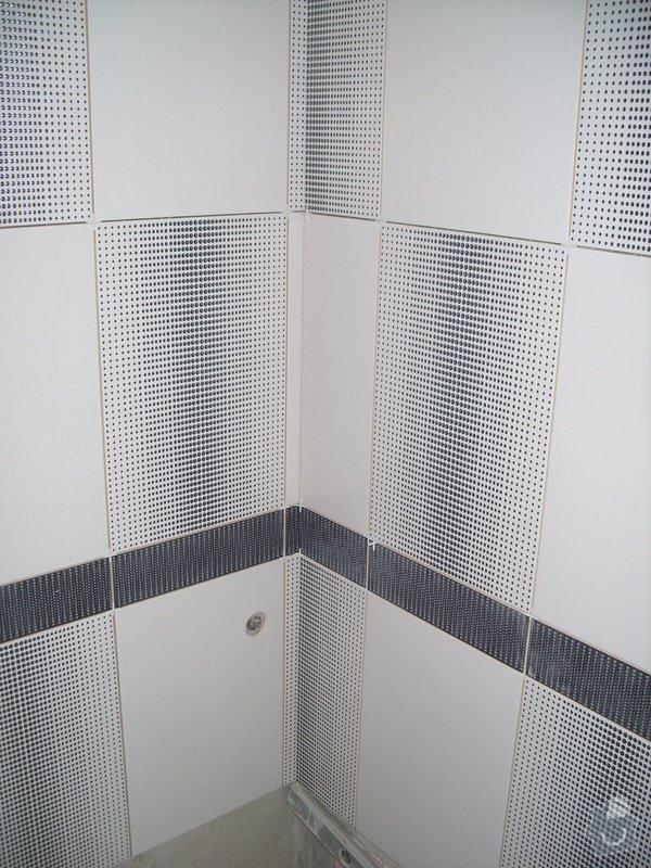 Obklady, dlažba, usazení sprchové vaničky: SS857750