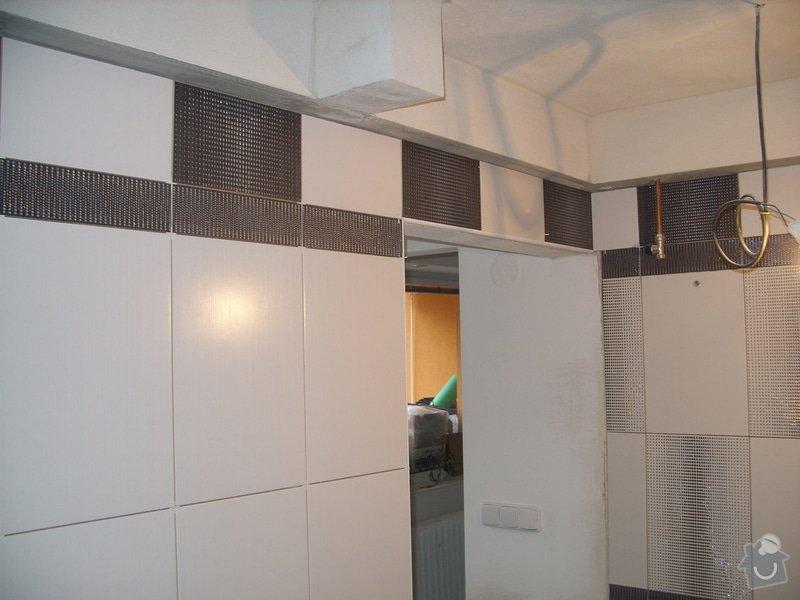 Obklady, dlažba, usazení sprchové vaničky: SS857758