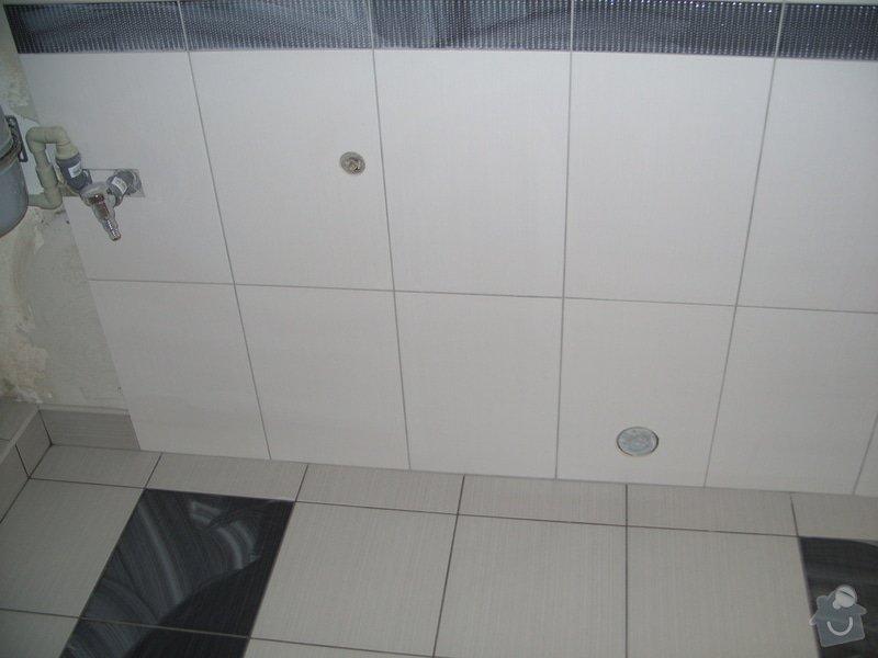 Obklady, dlažba, usazení sprchové vaničky: SS857776