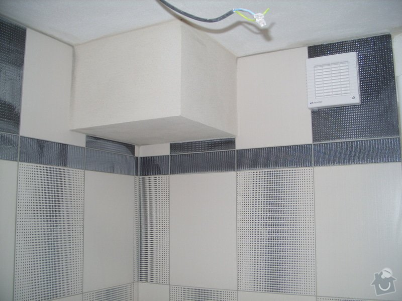 Obklady, dlažba, usazení sprchové vaničky: SS857780