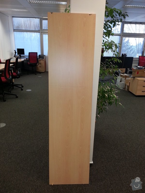 Police do skříní, úprava nábytku: kryci_deska