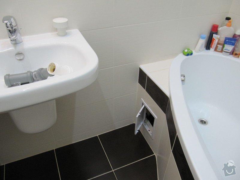 Výměna odpadů a přeinstalování vodoměrů v koupelně: IMG_9850