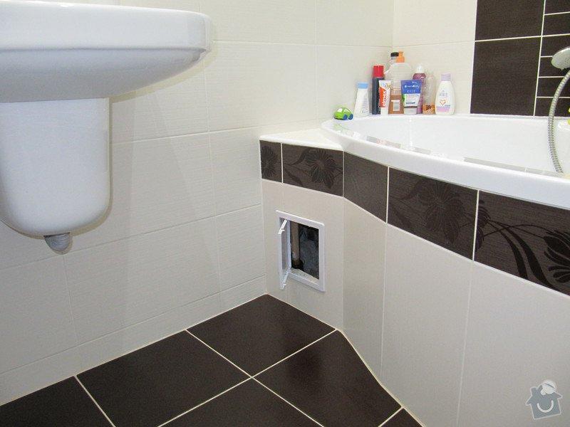 Výměna odpadů a přeinstalování vodoměrů v koupelně: IMG_9849