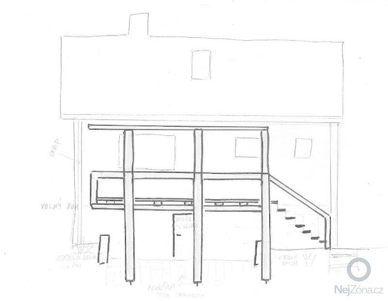 Dřevěná terasa cca 3,5*6m u Manětína: skenovani0006