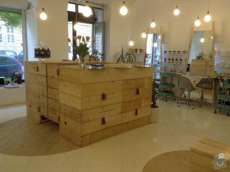Kompletní realizace kadeřnického salonu: image