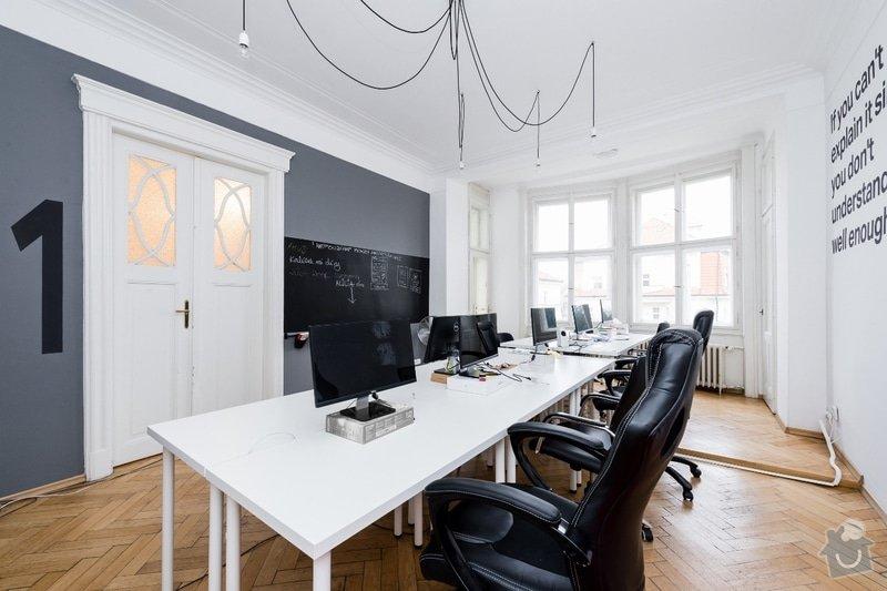 Kompletní malířské práce - designové malby, popisovatelné stěny: Designove_malby_v_kancelari