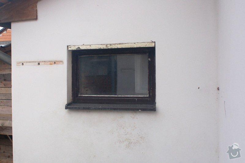 Výměna třech oken v RD: okno3