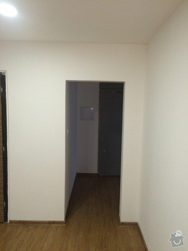 Rekonstrukce bytu,dodání kuchynské linky: 13.3.2015_2775