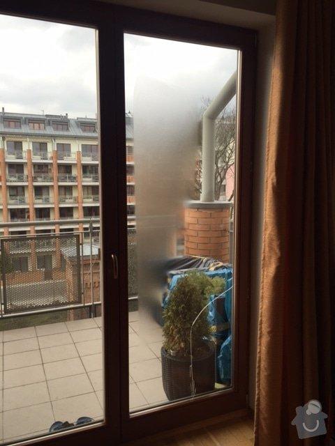 Zasklívání dveří balkónu: IMG_4760