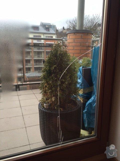 Zasklívání dveří balkónu: IMG_4761