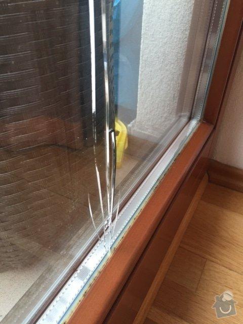 Zasklívání dveří balkónu: IMG_4762