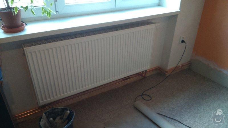 Pořízení a montáž topení: DSC_0397