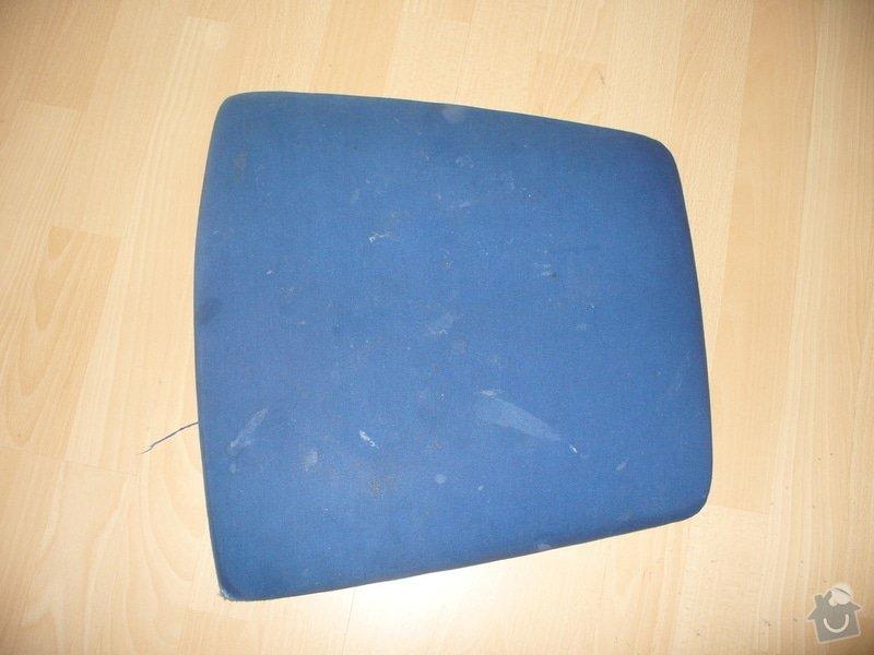Přečalounění sedáků židlí: P1230450