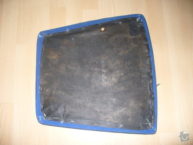 Přečalounění sedáků židlí: P1230451