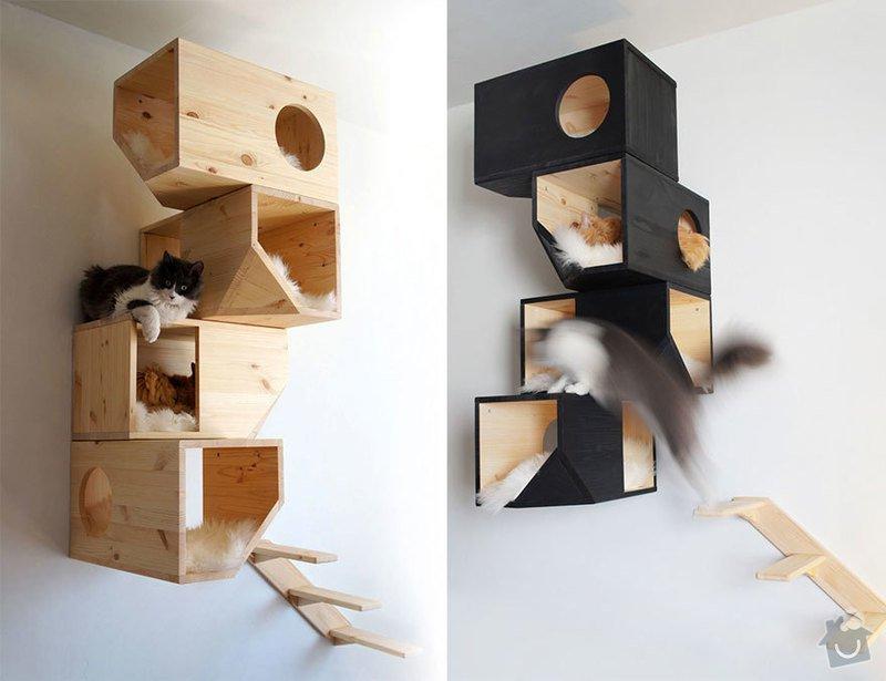 Kočičí strom: cat-furniture-creative-design-14