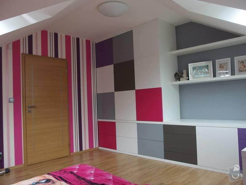 Dětský pokoj podle návrhu architekta: NeatWood_pokoj_lak_polomat_02
