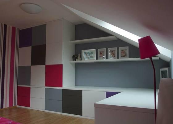 Dětský pokoj podle návrhu architekta