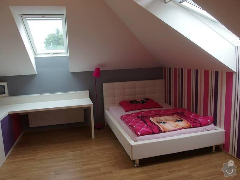Dětský pokoj podle návrhu architekta: NeatWood_pokoj_lak_polomat_01