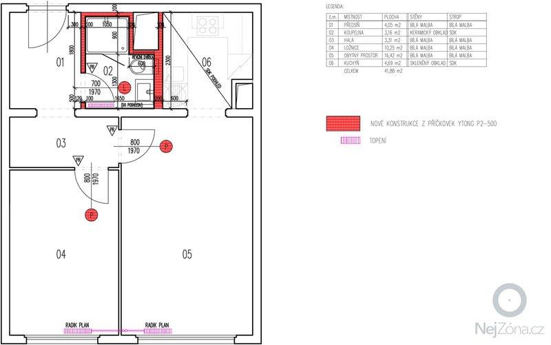 Rekonstrukce panelového bytu 2+kk: vykres_090924-2