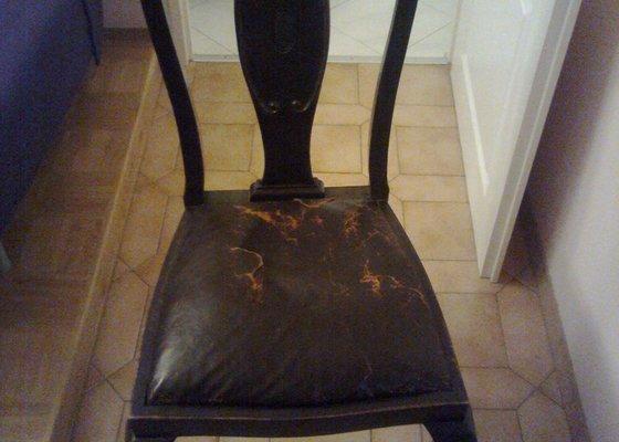Restaurační práce - starožitné židle