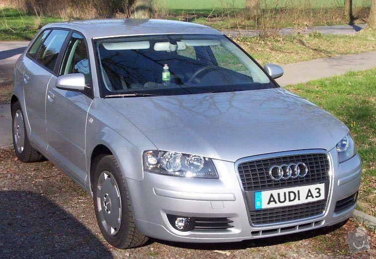 POMOC s koupí AUTA (ojetiny) kontrola vozu před koupí, pomoc s výběrem, dovoz ze zahraničí: Audi_A3_FR_silber_2005