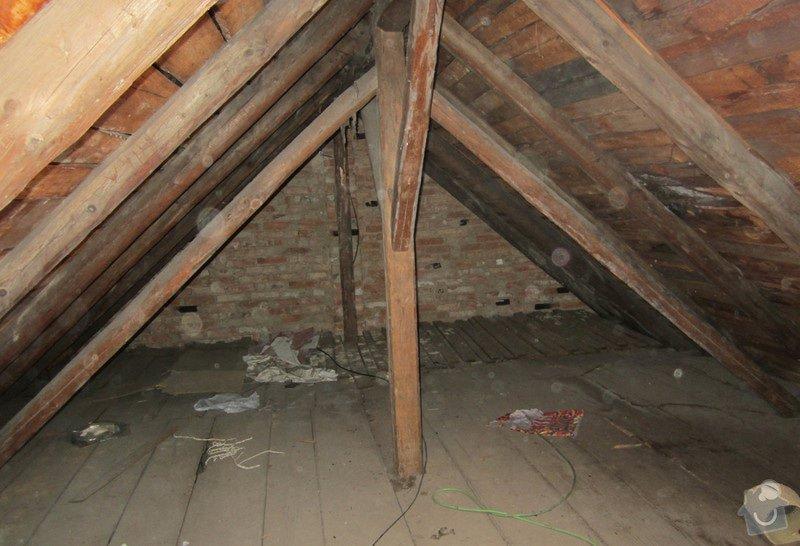 Nová střecha - trámy, krovy, krytina: 0003