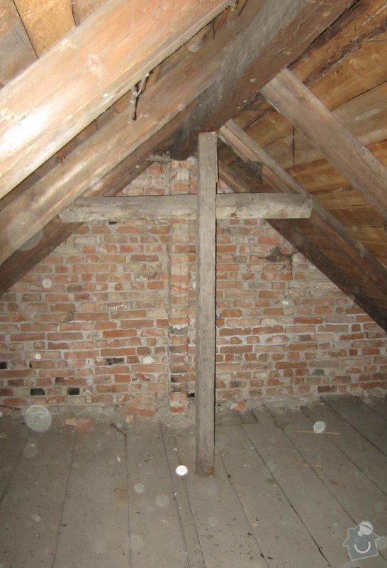 Nová střecha - trámy, krovy, krytina: 0005