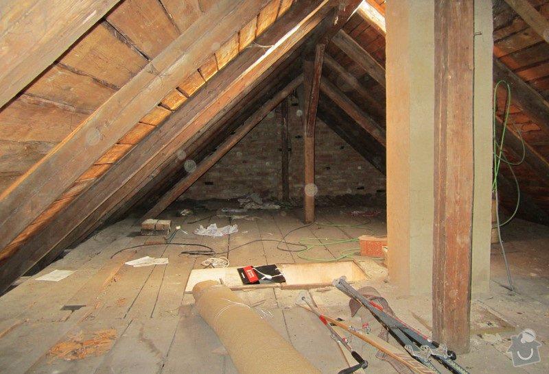 Nová střecha - trámy, krovy, krytina: 0006