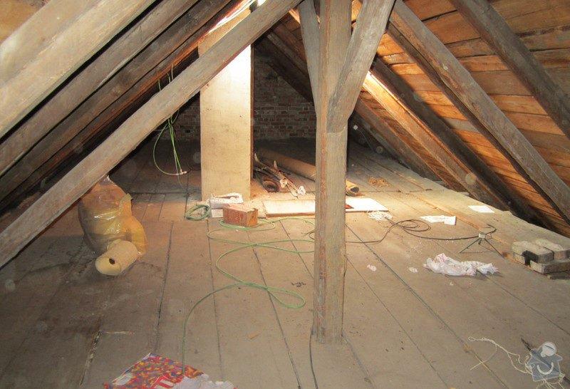 Nová střecha - trámy, krovy, krytina: 0007
